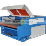 hot sales automatic feeding large format fabric leather cloth Roll Fabric laser cutting machine 1610