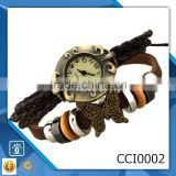 Brand New Fashion Men's Watch leather stainless steel quartz Wrist Watch Gift CCI0002
