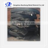 Black concrete PSB thread screw reinforced steel bars / rebar with accessories for mining roof