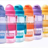clear plastic baby water bottle with straw 350ml