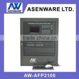 Wireless addressable fire alarm control panel for fire fighting system control panel