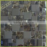 Decorative tile marble art pattern mosaic tile mixed stone mosaic