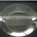 dispoable plastic party plate/round chafing dish