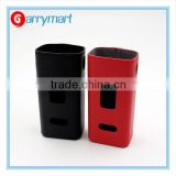 Wholesale cuboid 150w box mod lether case cuboid 150w colorful lether protect case