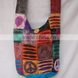 Wholesale Designer Thai Cotton Hobo HIPPIE Sling Bag Crossbody Bag