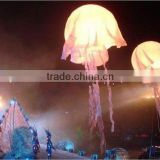 inflatable stage decoration,party decorations with inflatable jellyfish,led inflatable jellyfish balloon