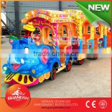 outdoor electric trackless train for kids