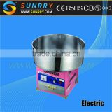 Hot Commercial Sugar manufacturing cheap automatic cotton candy floss machine for sale