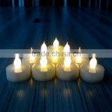 changing multicolor battery operated cute tea light led candles