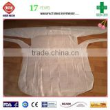 2015 best selling products disposable surgical gown CPE gown