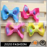 Hot sale Little baby girl hair grosgrain ribbon Bow /Baby Boutique hair pins girls bows hair accessories                                                                                                         Supplier's Choice