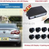 Hot wireless reverse camera and car parking sensor,Front side and Rear side detector both