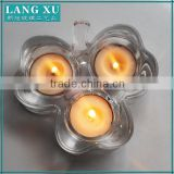 Alibaba Gold supplier candle holder 3 arms crystal candelabra