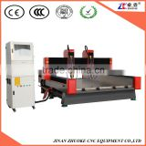 High Speed CNC Router 1325 Stone Engraving Carving Machine 5.5Kw With 2 Spindle Head NCStudio Control System ZK-1325