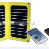 High Quality 11W USB Output 5V Solar Power Bank Sunpower Solar Panel Charger Camping Charger