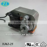 220v ac electric motor Air pump motor Shaded Pole Motor YJ62-25: universal motor, small powerful electric motors