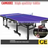 modern standard 18mm MDF table tennis table/ sports craft ping pong table