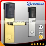 factory wholesale rfid security electric handle safe digital hotel keyless smart card door lock
