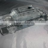 pure crystal cab car model for Business gift (R-1060
