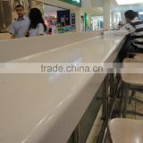 square coffee shop tables chairs used, long solid surface bar table ,KFC table
