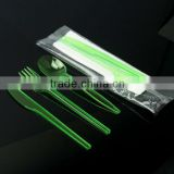 Wholesale disposable PP plastic cutlery, set of plastic cutlery
