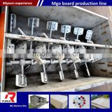 china factory fireproof waterproof mgo board production line/automatic (mgo) sandwich insulation wall panel equipment