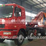 80ton knuckle boom Crane and Accessories,SQ1600ZB6, hydraulic truck mounted crane.