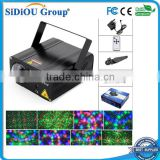Sidiou Group 108 Sound Activated Mini Laser Lighting, Green and Red, Black Model
