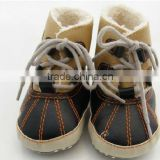 Winter & Autunm toddler shoe, PU baby shoe, cool prewalker for boy