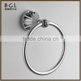 11132 wall mount zinc alloy round towel ring for bathroom accessories dubai