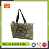 Customized Fabric Shopping Bags Non Woven Organic Cotton Bag Wholesale Paper Shopping Bag