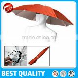 31cmX8panels Promotional head umbrella.promotional hat umbrella,promotional cap umbrella
