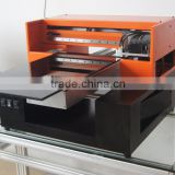 A3 size digital led uv flatbed printer DX5 print head uv flatbed printer with best price printing direclty no need primer