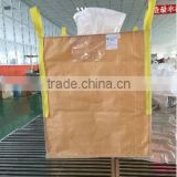 Flexible Container Bag 1000kg,Top full open, Bottom Plain, for packing vegetables,100% virgin material PP,Made in China