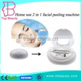 Portable homeuse 2 in 1 multifunctional crystal dermabrasion water spa facial lift beauty machine