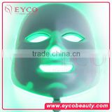 EYCO 7 colors Led mask 2016 new product red light anti aging therapy light treatment for wrinkles