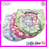C289 Bathroom Soft Warm Washable Seat Covers Cushion Soft Close Mechanism for Toilet Seat
