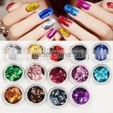 Wholesale bling bling colorful nail glitter powder