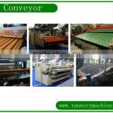leather tannery fleshing machine conveyor belting manufacturer