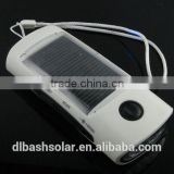 Low price FM solar radio solar charger rechargeable 3 LED light