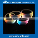 Remote Control LED Bracelets/Wholesale Flashing LED Wristband for Concerts, Event