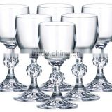 Bohemia brandy glass crystal brandy goblet wine brandy glass mug