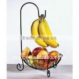 H2214 steel fruit tree with basket