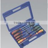 11 PC MAX GRIP TYPE ASSORTED SCREWDRIVER SET