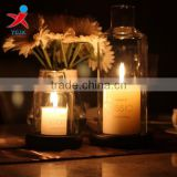 European style glass candle candle wind the glass lampshade wedding wedding decoration furnishing articles props candlelight din