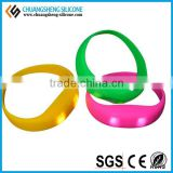 Shaking sensing Silicone led lighting bracelet