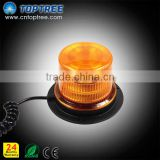 12V 24V battery operated led beacon Light Flash Yellow magnetic battery warning light cntoptree led flashing strobe light