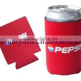 Red Neoprene Pepsi Can Cooler