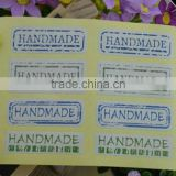 Handmade Gift Sealing Paste Label Clothing label for Food Packaging