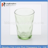 LongRun class Drinkware Type and Eco-Friendly,Stocked Feature 6pcs set glass never get off color glass tumbler